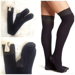 Free people wildest dreams over the knee socks